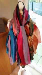 Pic of scarves